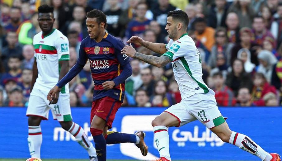 Imagen del Barcelona vs. Granada de la primera vuelta de la Liga BBVA