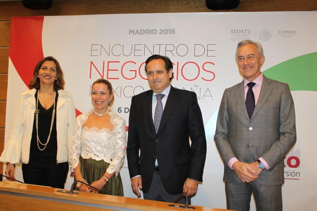 Fotografía de Mexico acto evento inversion inmobiliaria ceoe españa bbva bancomer