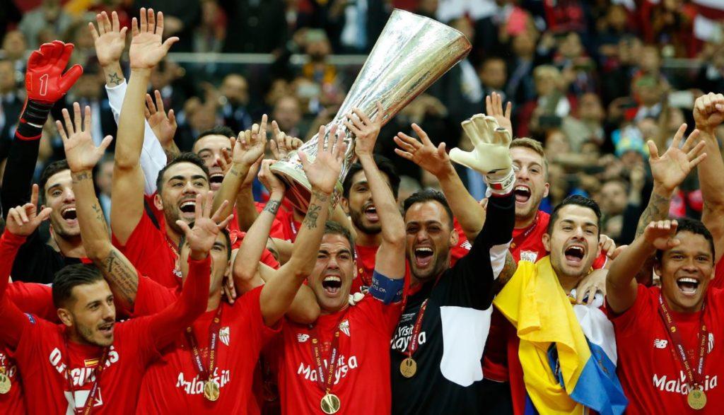 El Sevilla, campeón de la Europa League 2015 | Foto: EFE