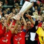 El Sevilla, campeón de la Europa League 2015   Foto: EFE