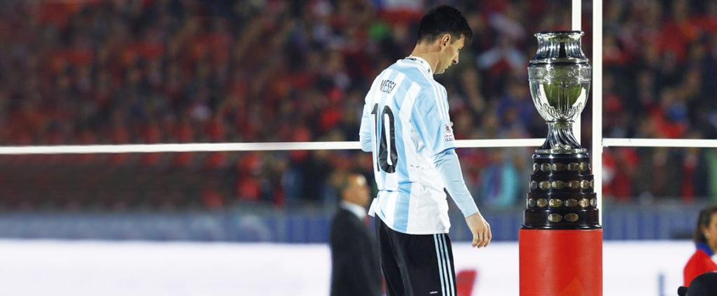 Messi, tras perder la Copa América 2015 ante Chile | Foto: EFE