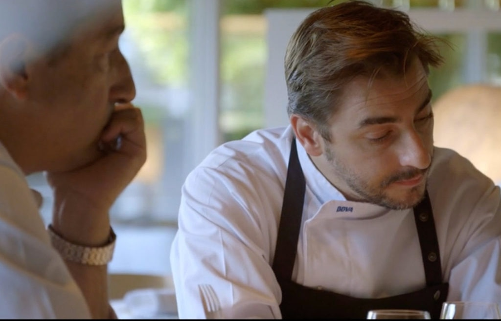 Fotografía de Jordi Roca en Cooking up a tribute documental de la gira bbva- el celler de can roca