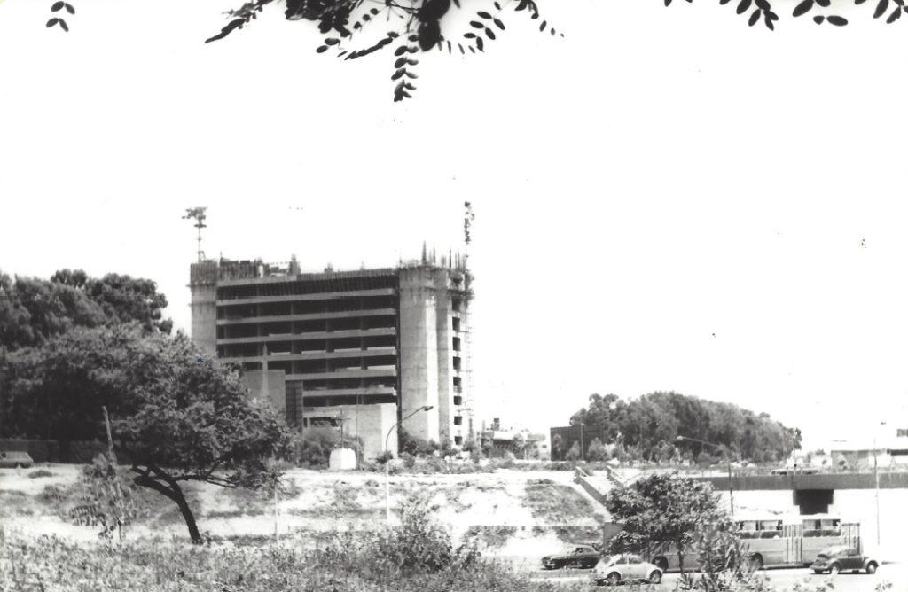 Fotografia de Construccion Sede Central BBVA Continental Lima