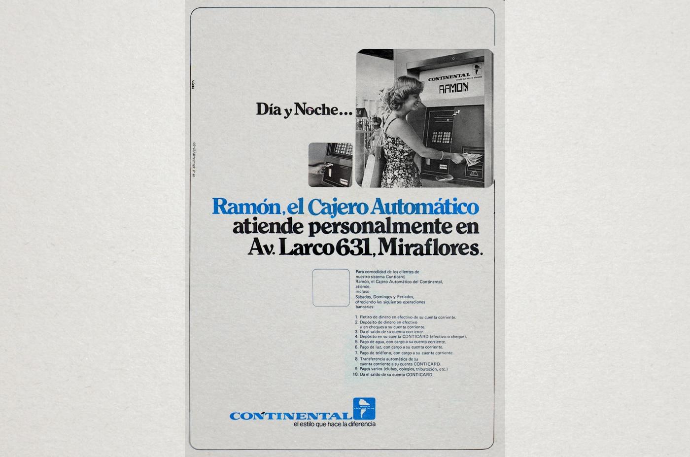 Fotografia de Historia continental apertura cajero automatico bbva