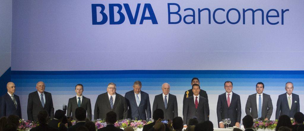 peña nieto y francisco gonzalez bbva bancomer