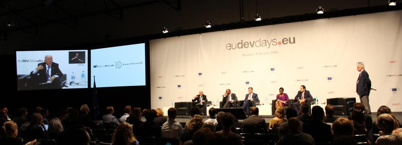 Intervención del presidente Fundación Microfinanzas BBVA en los European Development Days