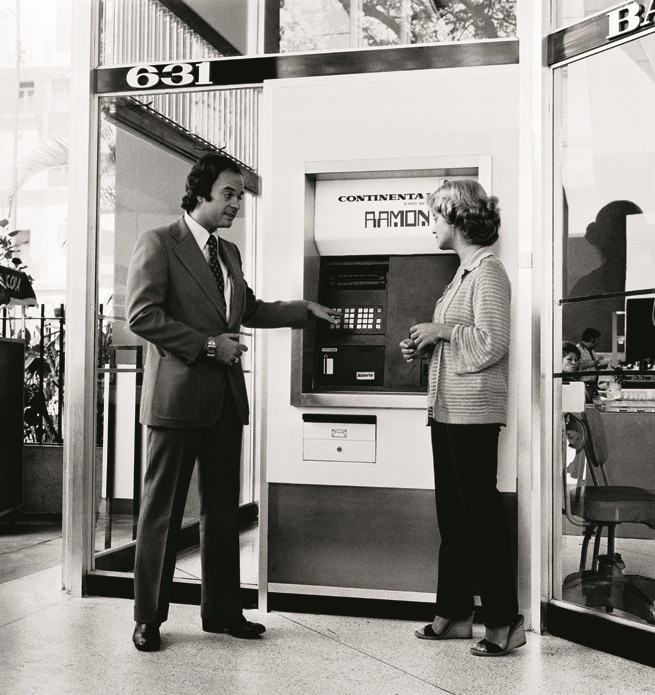 Fotografia de Primer cajero automático Perú BBVA Banco Continental