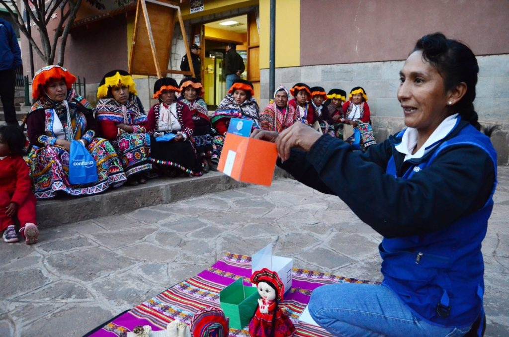 Fotografía de Rut Pelaiza - Financiera Confianza, Fundación Microfinanzas BBVA