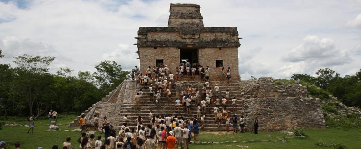 Ruta BBVA 2010 México sitio arqueológico