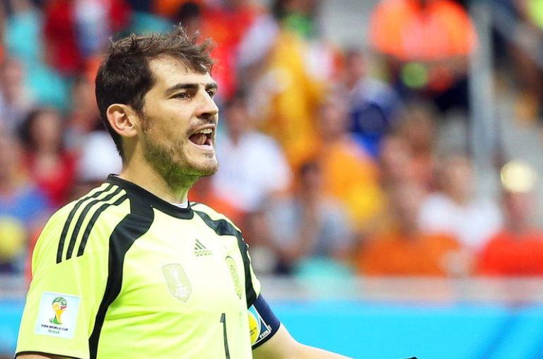 Íker Casillas, portero de la selección española | Foto: EFE