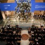 Fotografía de la ceremonia de entrega de la octava edición de los premios Fronteras del Conocimiento. KIKE PARA.