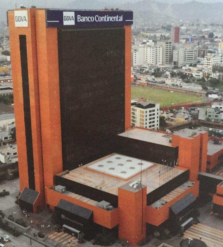 Fotografía de Edificio BBVA Banco Continental Perú