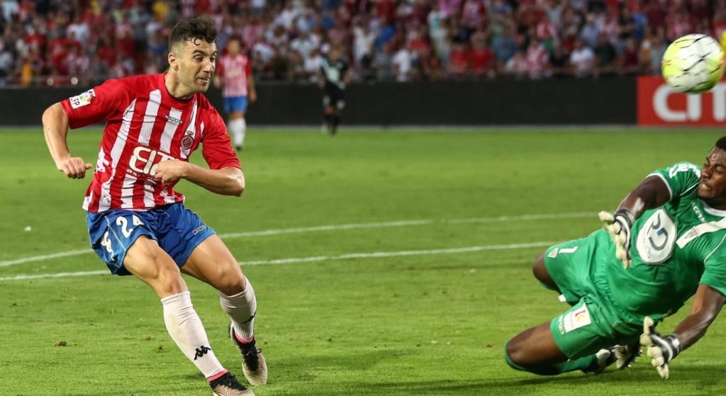 La vaselina de Cristian Herrera ante el Córdoba en el play-off de ascenso a la Liga BBVA | Foto: LaLiga