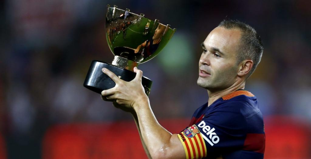 Iniesta, jugador del FC Barcelona | Foto: EFE