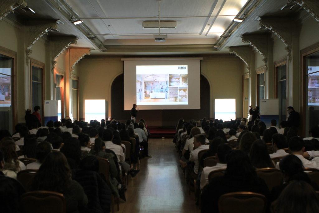 Fotografía de Masterclass de Jordi Roca en Chile con la Fundación Microfinanzas BBVA
