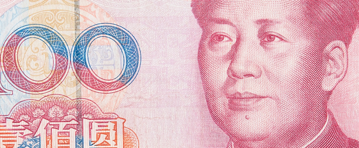 yuan china billete recurso