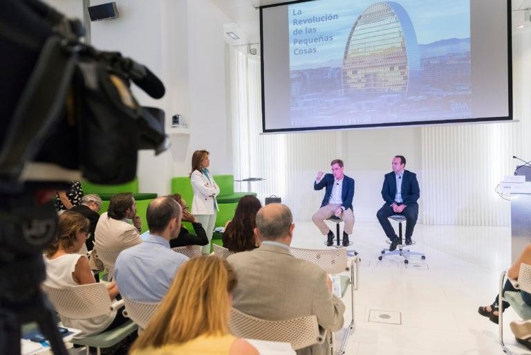 Fotografía de la presentación herramienta digital vivienda BBVA 2