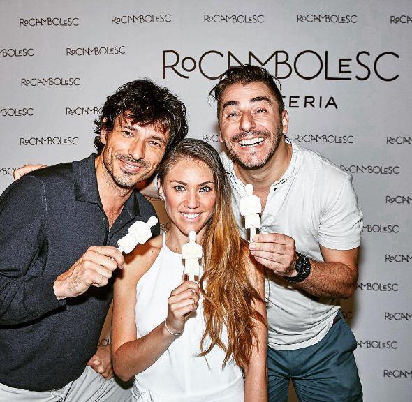 Fotografía de Ale Rivas Andrés Velencoso y Jordi Roca- Rocambolesc