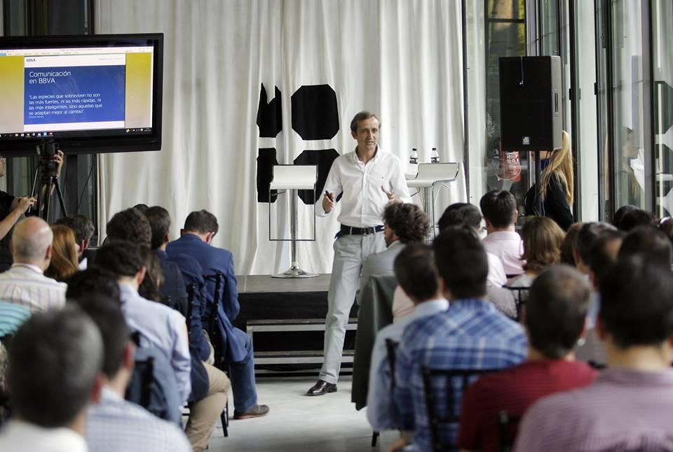 Fotografia de Innovation Talks Córdoba emprendimiento innovacion BBVA