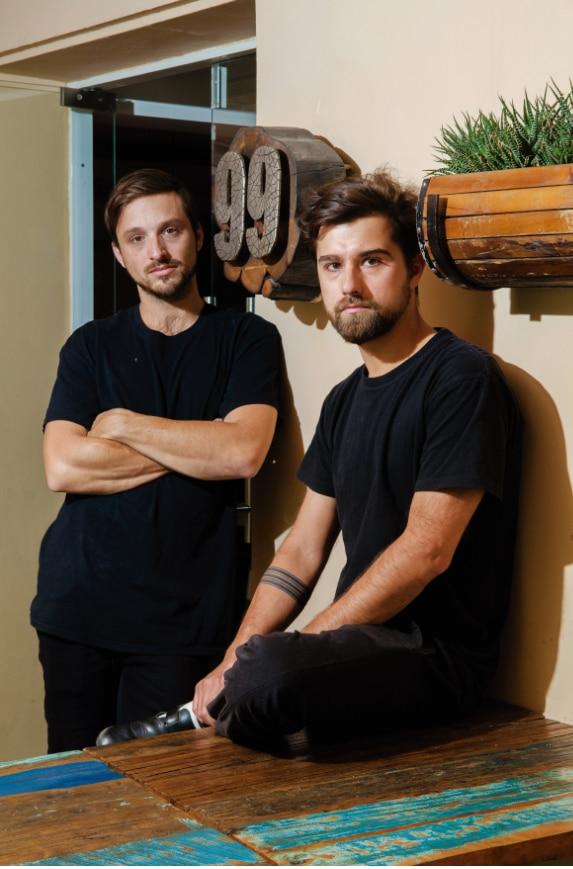 Kurt Schmidt y Gustavo Saez