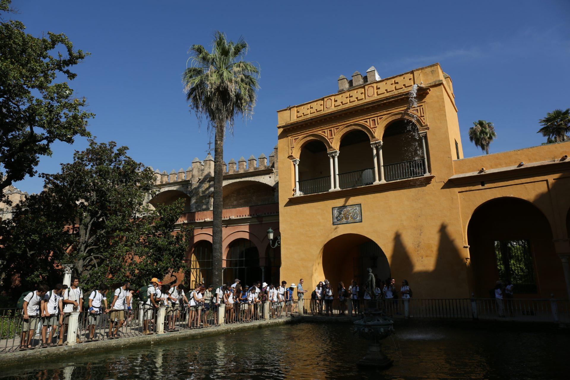La Ruta BBVA recorre el Real Alcázar de Sevilla