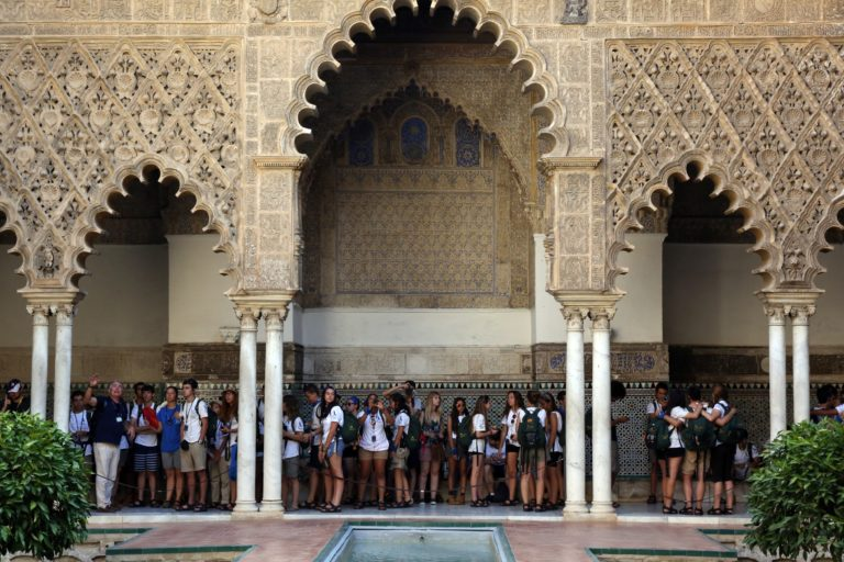 La Ruta BBVA visita el Real Alcázar de Sevilla