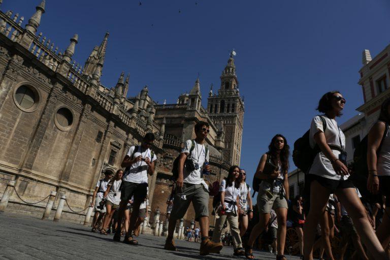 La Ruta BBVA visita la catedral de Sevilla