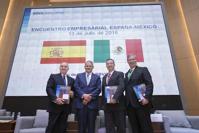 Cuatro ponentes expusieron la situación económica y las oportunidades de negocios a la Misión Empresarial de España que visita la Ciudad de México.