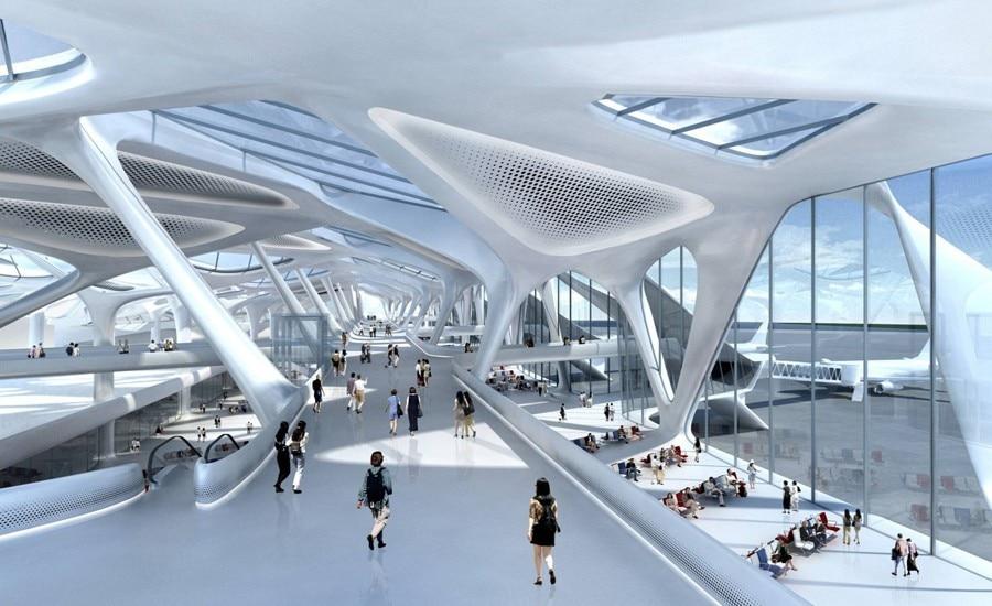 Proyecto del nuevo aeropuerto Ciudad de México