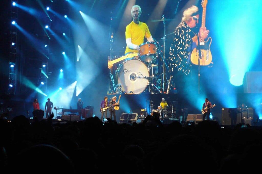 Fotografía de Rock al parque presentación Rolling Stones