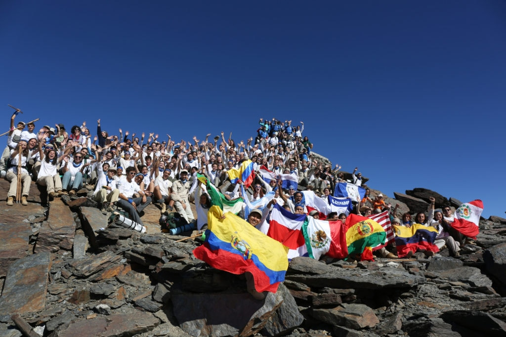 Ruta BBVA en la cima del Mulhacén