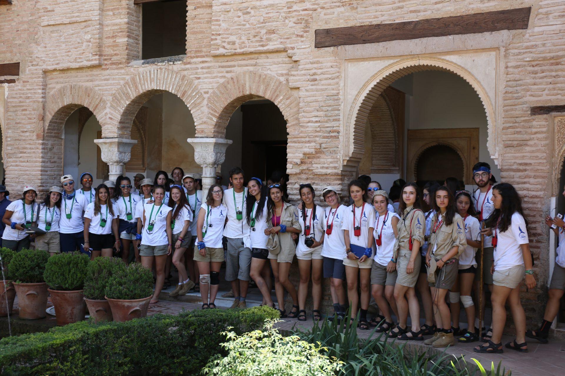 Ruta BBVA en los jardines del Generalife de la Alhambra , Granada 2