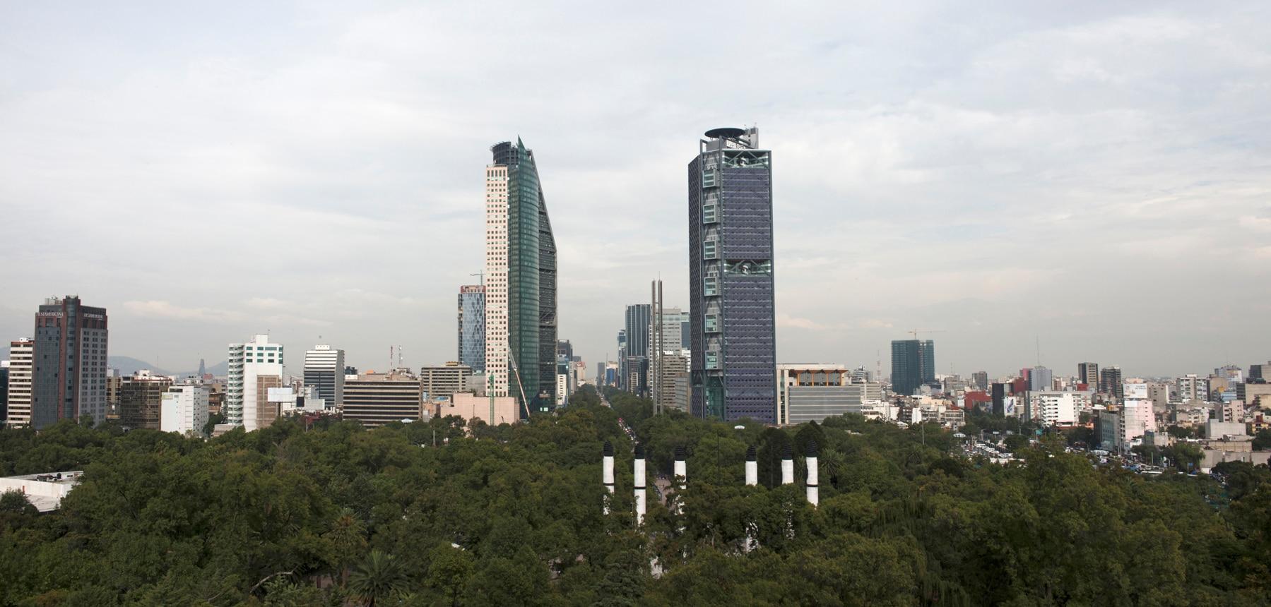 Fotografía de Torre BBVA Bancomer México