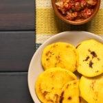 Fotografía de Arepa gastronomia venezuela alimentación sabor harina maiz BBVA