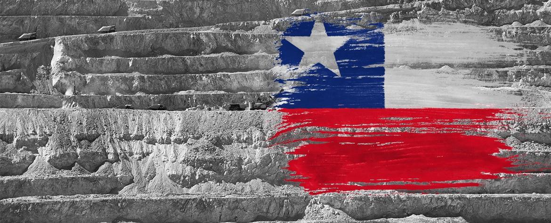 Fotografía de Vicente Rodero bandera chile BBVA
