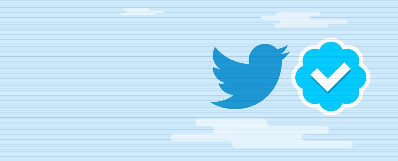 Fotografía Logo de twitter e insignia de verificación