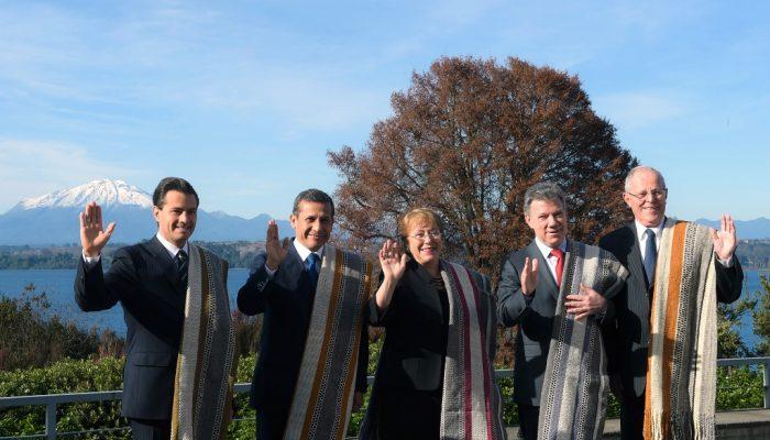 Presidentes Alianza del Pacífico