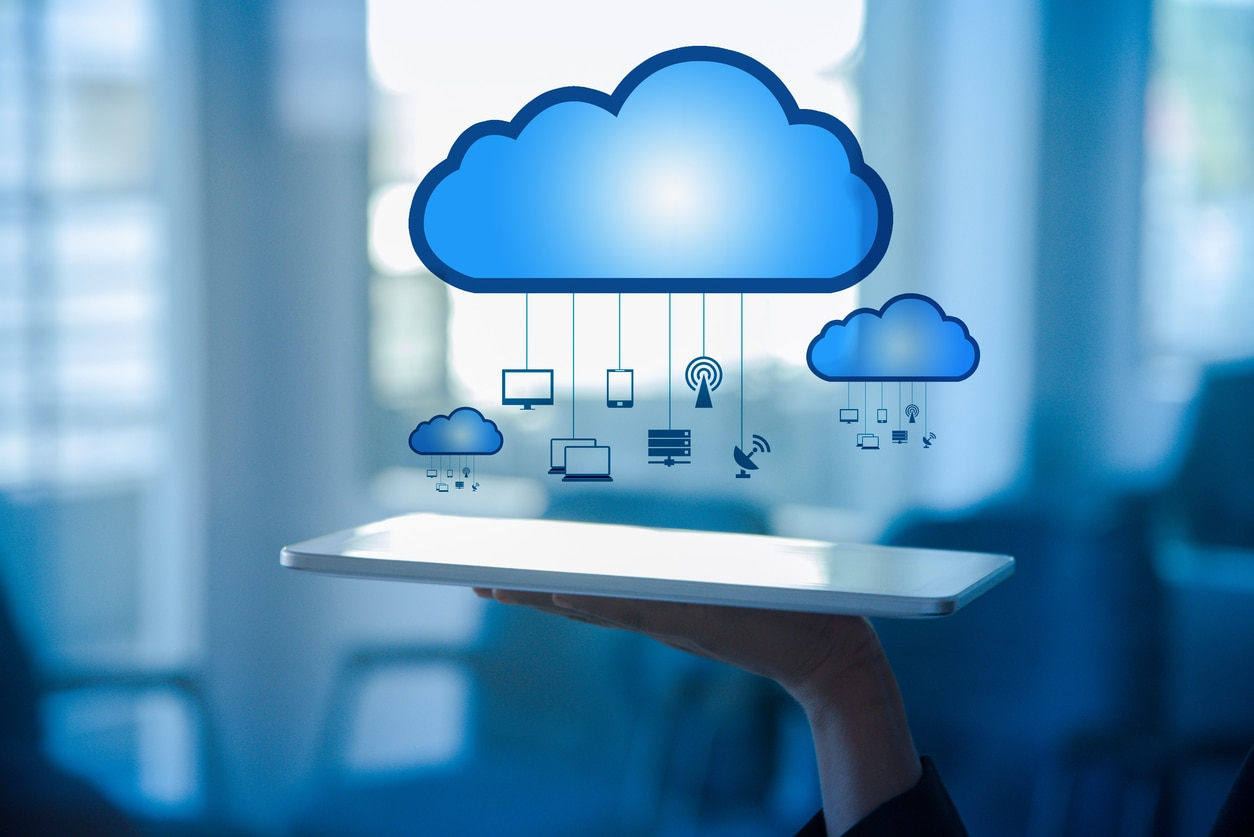 cloud nube datos bigdata tablet recurso bbva