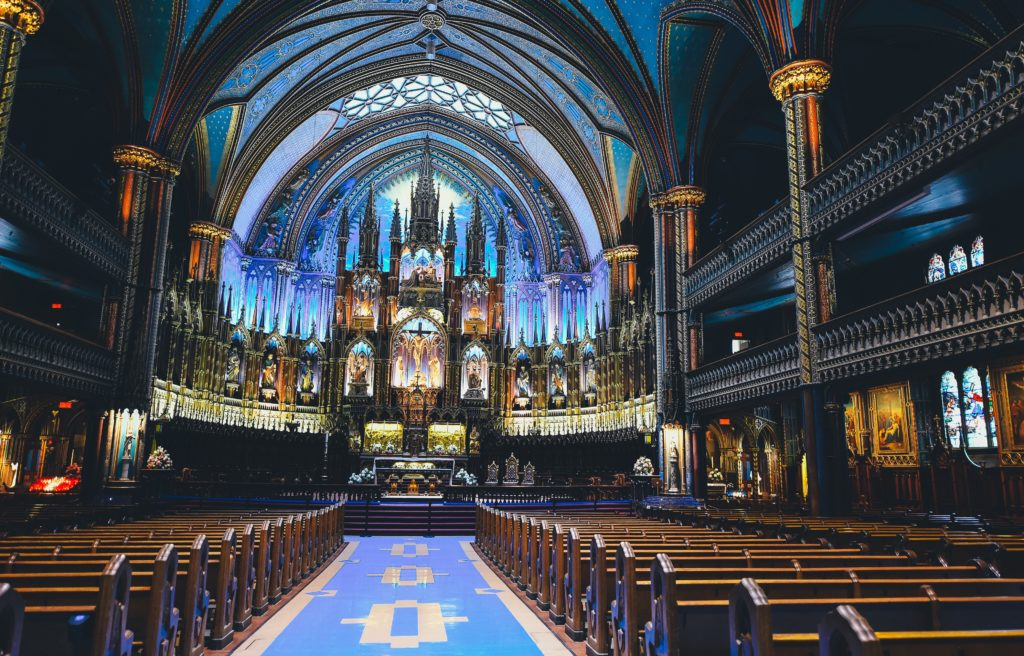 Fotografía de la Catedral de Montreal por Annie Spratt