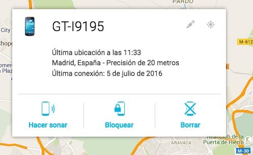 Localización Android recurso de google