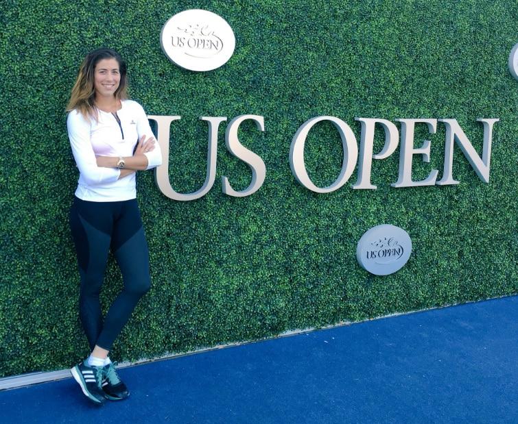Fotografía de Garbiñe Muguruza US Open 2016