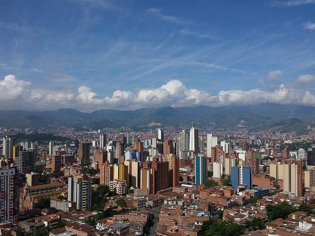 Fotografía tomada por Iván Erre Jota de la Ciudad de Medellín, Colombia, BBVA
