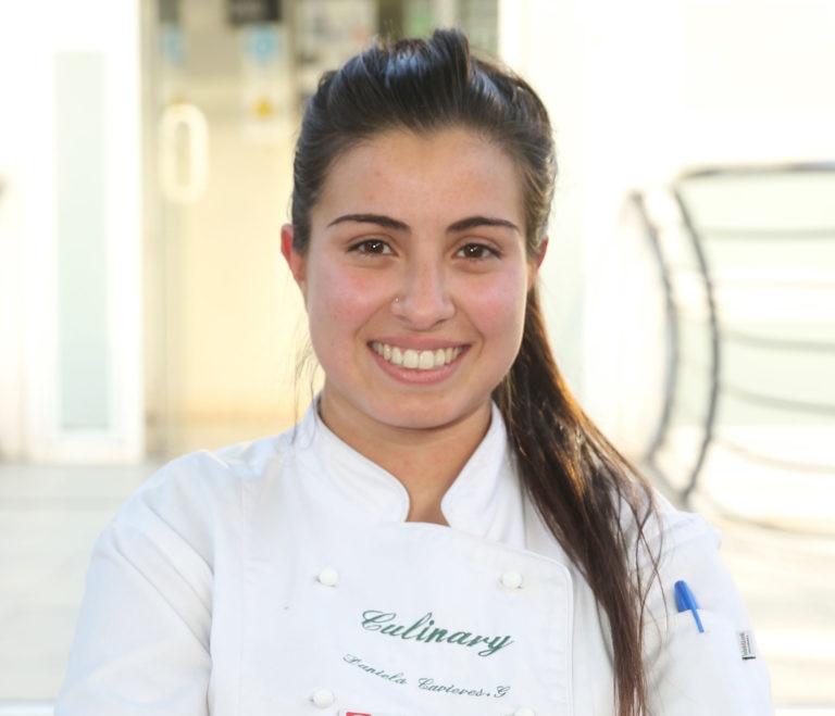 Fotografía de Daniela Cavieres estudiante chilena que asistirá durante la Gira BBVA- El Celler de Can Roca 2016 ©Ernesto Zelada - Xpress Media