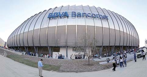 Festejan Rayados de Monterrey un año del Estadio BBVA Bancomer