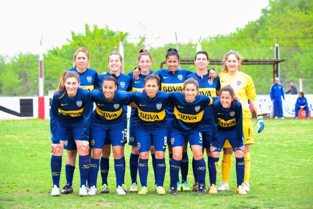 Foto  Boca Fútbol Femenino fe31019a16a65