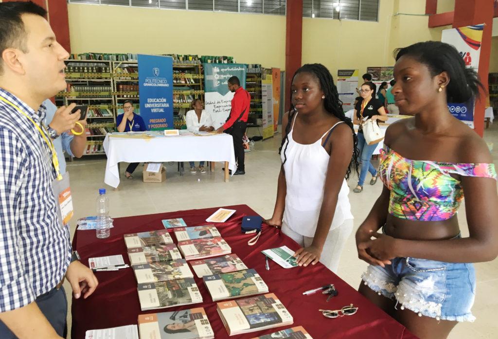 Fotografía de Primera Feria Universitaria Edupazcífico en Quibdó, Chocó