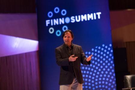Hugo Nájera ponencia Finnosummit -final del Open Talent 2015