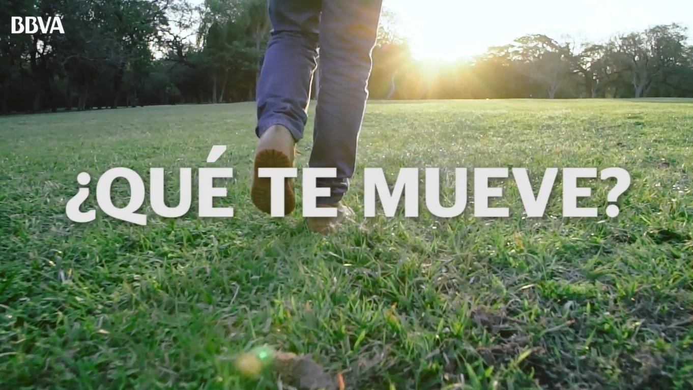 Imagen campaña institucional de BBVA Paraguay