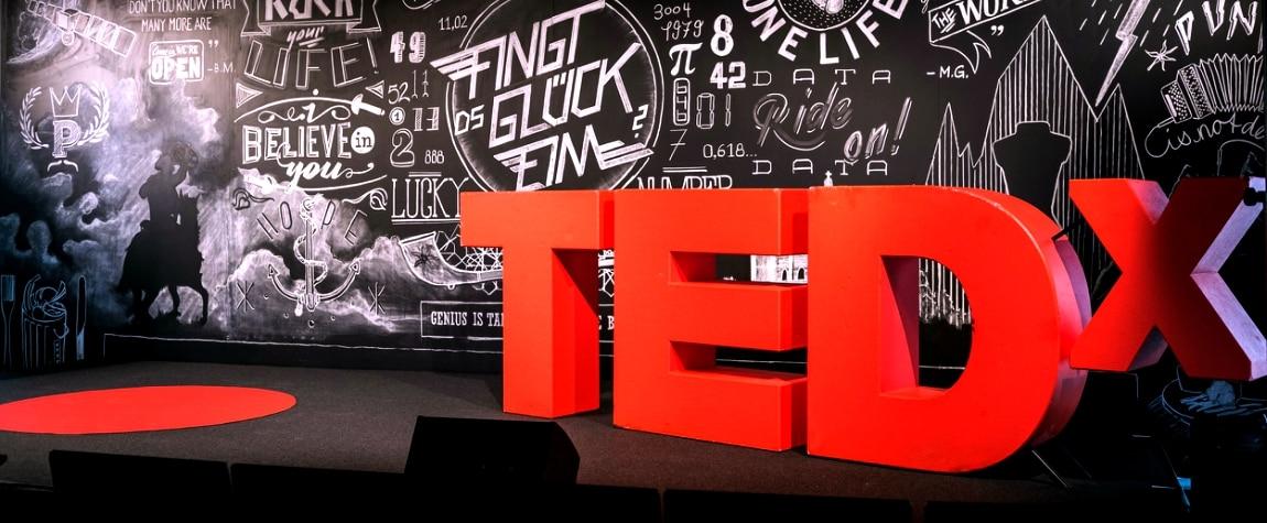 TEDx, imagen evento, conferencia, charlas educativas, tecnología, entretenimiento, diseño