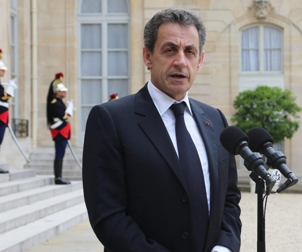 El ex presidente de Francia, Nicolás Sarkozy, en una imagen de archivo